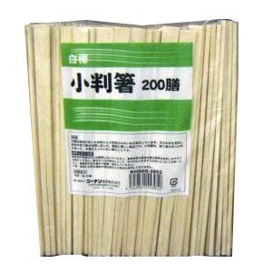 コーナン オリジナル 白樺小判箸 箸袋無し 200膳 KHD05−3952