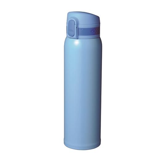 コーナン オリジナル 超軽量ワンタッチマグボトル 750ml スカイブルー KFY05−8640