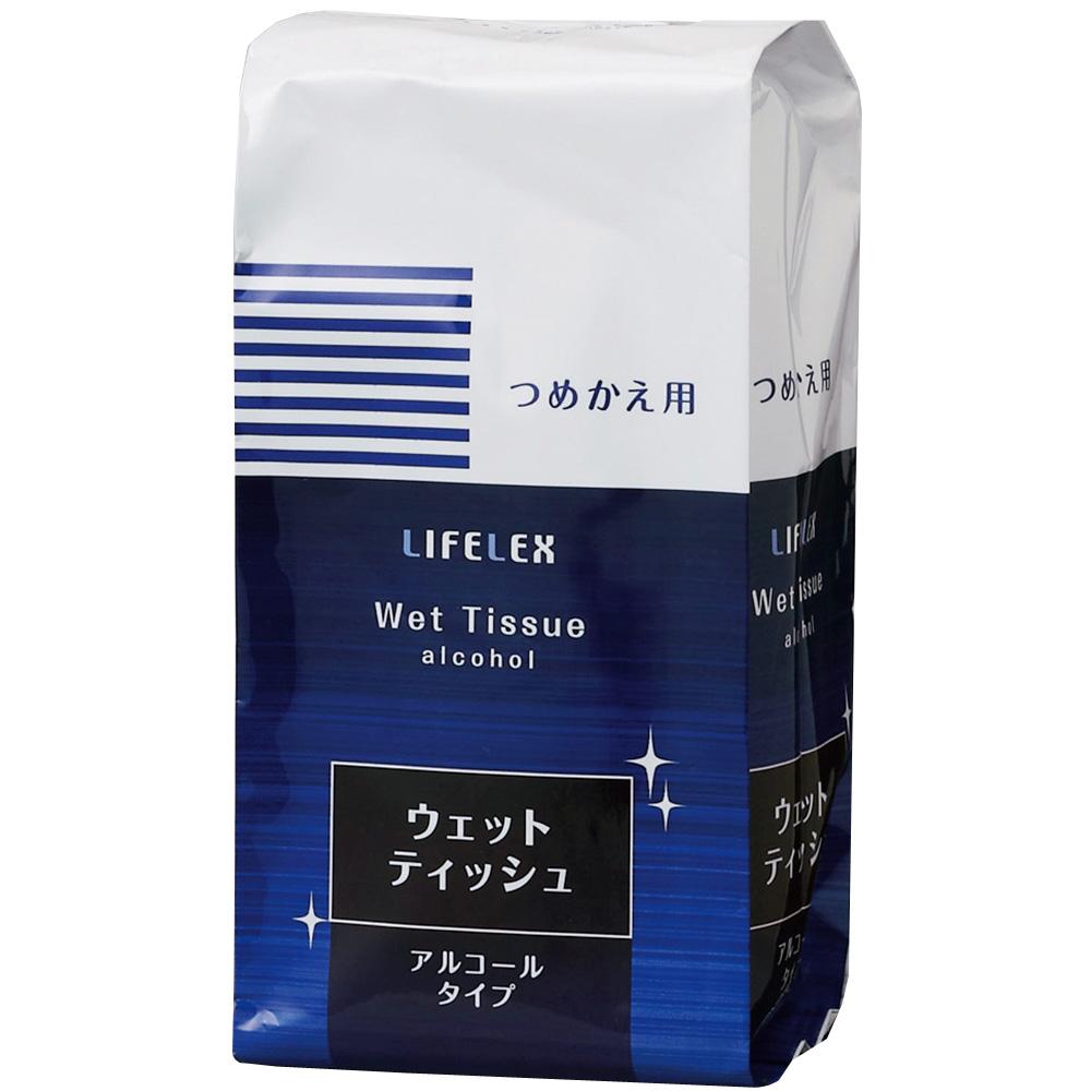 コーナン オリジナル ウェットティッシュ アルコール 詰替用 100枚入