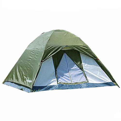 コーナン オリジナル UV カット 防水加工 3人用 ドームテント グリーン 幅200X奥行200X高さ130cm
