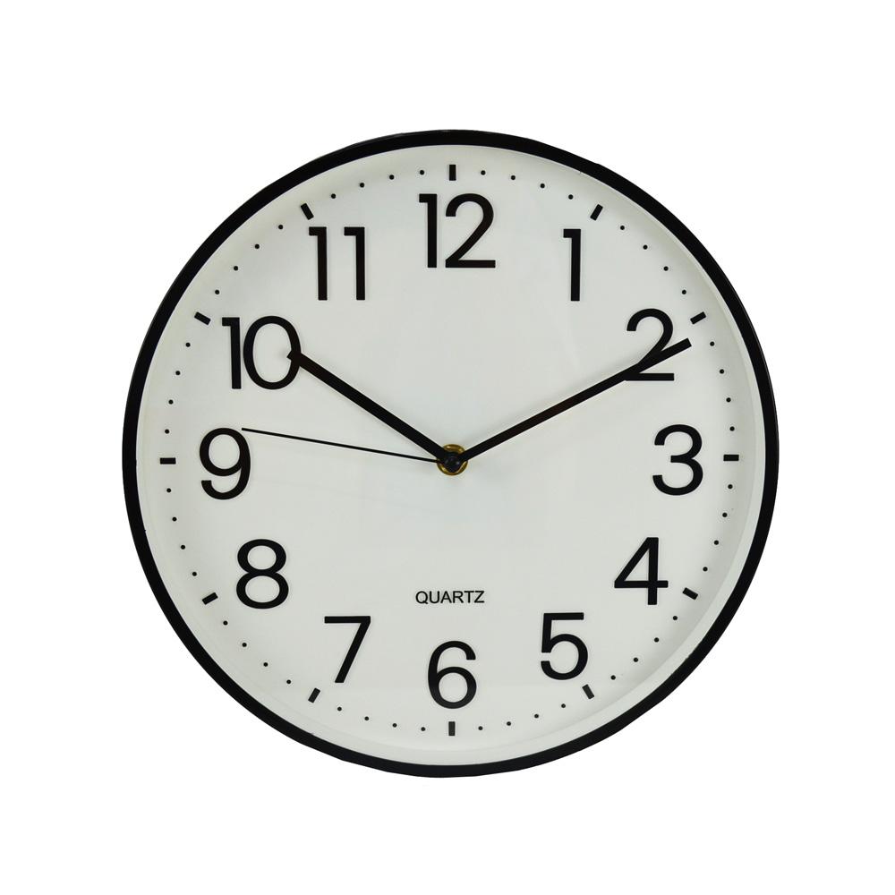 コーナン オリジナル 掛時計 ブラック FX−5821HK