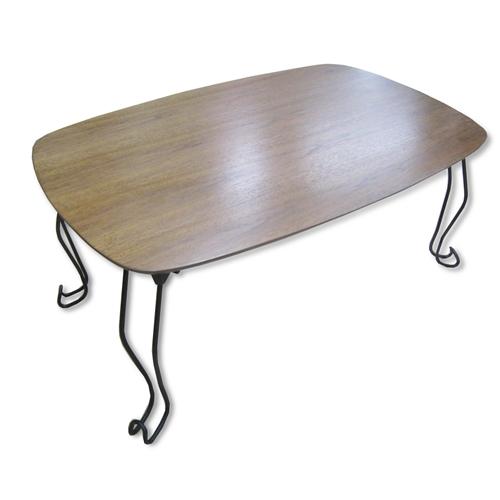 コーナン オリジナル 突板テーブル7550 KR18−2940−DBR