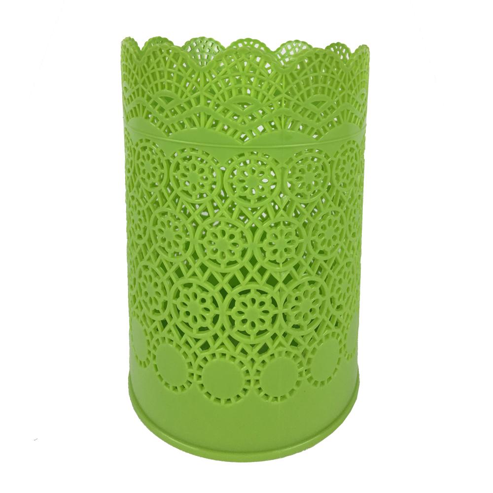 コーナン オリジナル カラーくずいれ 柄 グリーン ST1209−GR