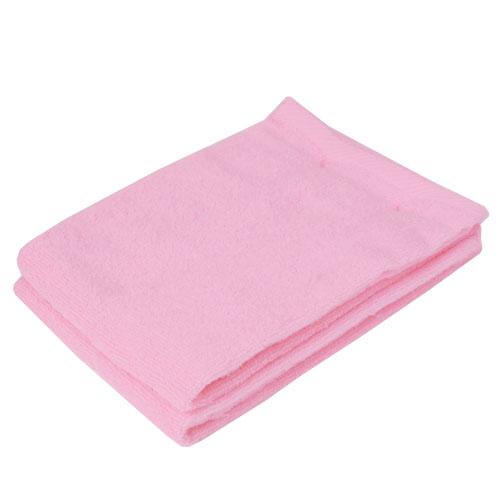 コーナン オリジナル ふんわり無撚糸フェイスタオル ピンク