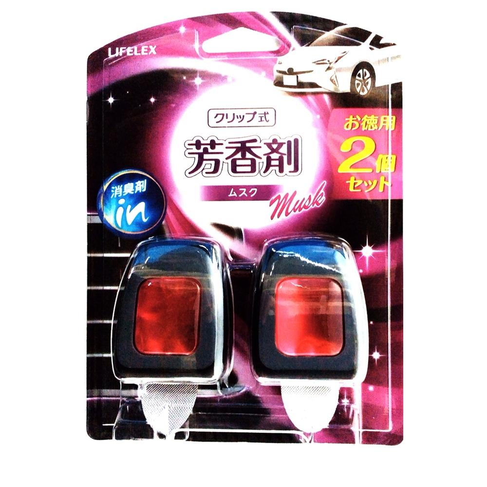 コーナン オリジナル クリップ式芳香剤 ムスク 2個入 (車用消臭・芳香剤)