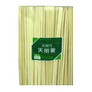 コーナン オリジナル 竹天削 100膳 24cm KN05−2172