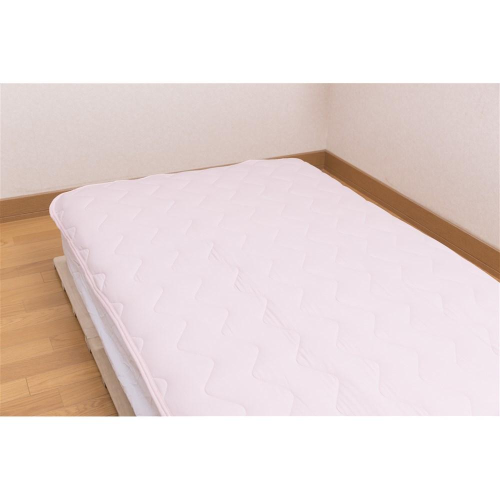 コーナン オリジナル マシュマロひんやり敷きパッド ピンク 約幅100×奥行205cm