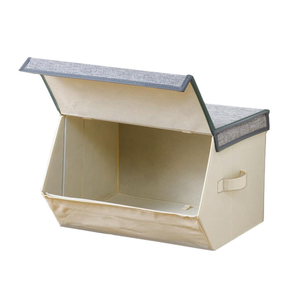 コーナン オリジナル オープンケースM GY-KMT18-2910 衣類収納 衣装ケース 小物収納