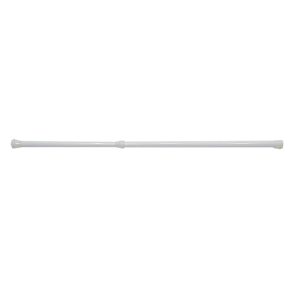 コーナン オリジナル アルミ製伸縮ポール ホワイト 約25〜40cm