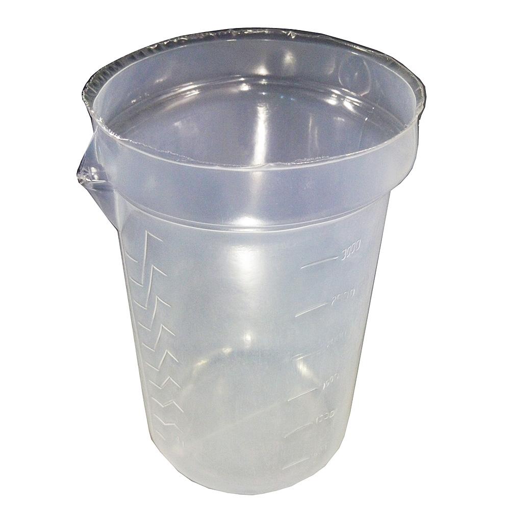 調色用使い捨て容器3L替え容器(10枚入)