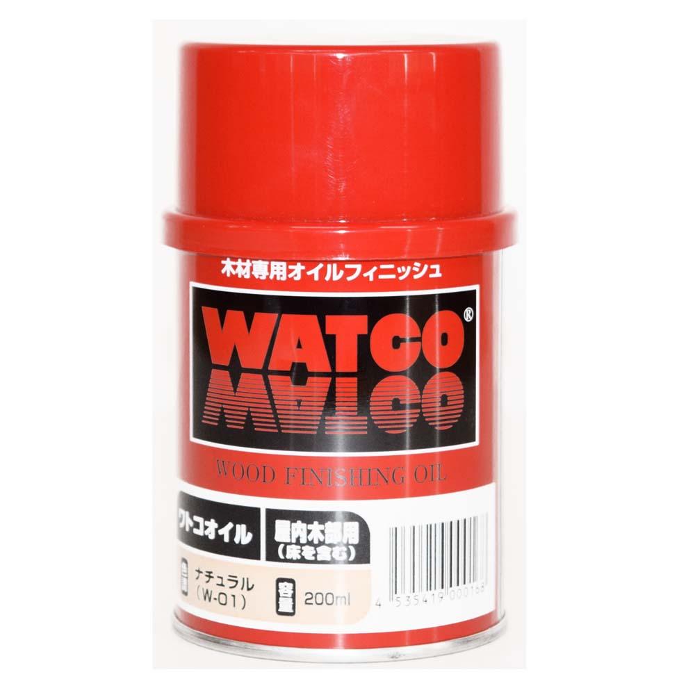 ワトコオイル ナチュラル W−01 200ML
