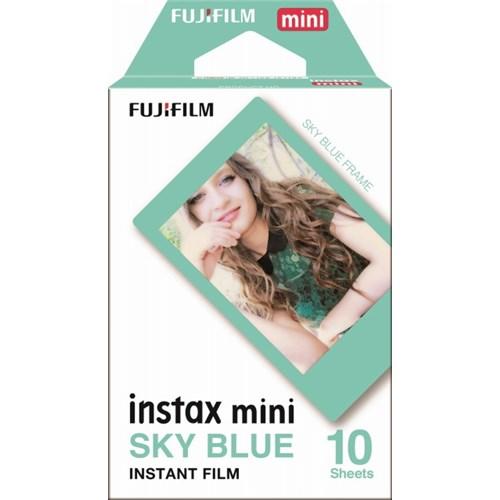 チェキ専用フィルム instax mini スカイブルー ※INSTAX MINI BLUE FRAME WW 1