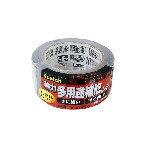 Scotch 強力多用途補修テープ ダクトシールテープ 幅48mmx長さ27m