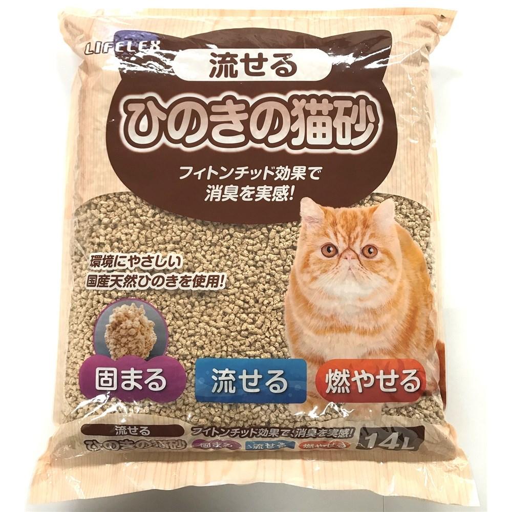 ☆☆☆ ひのきの猫砂 14L