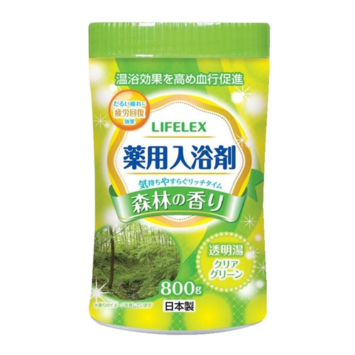 ◇ 薬用入浴剤 森林の香り 800g
