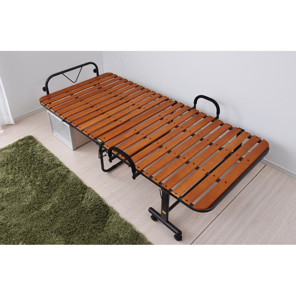 コーナン オリジナル 折り畳みすのこベッド KR18−0042