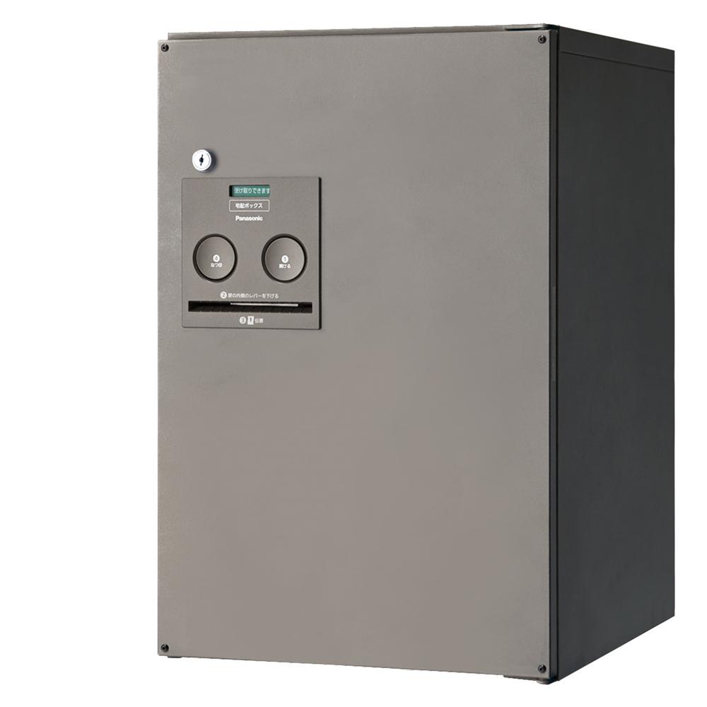 Panasonic(パナソニック) 宅配ボックス コンボ ミドルタイプ(前出し・左開き仕様) ステンシルバー色