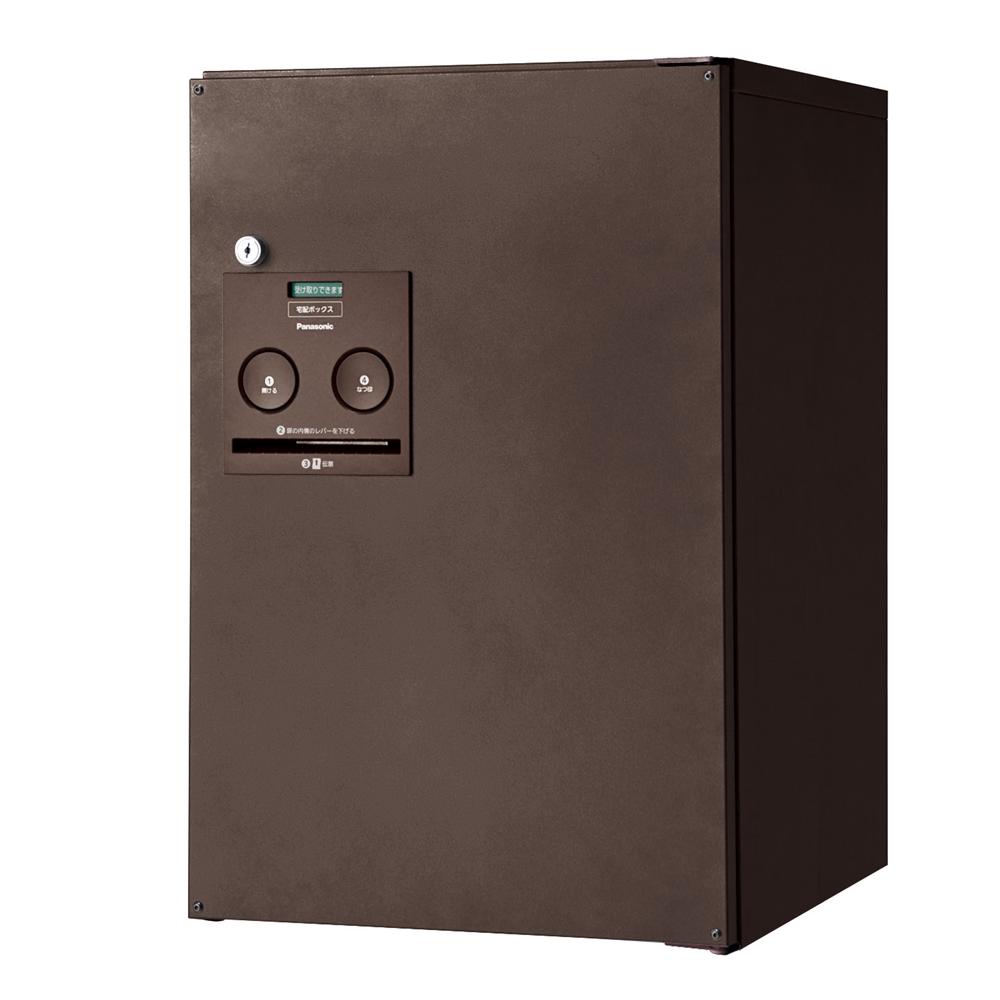 Panasonic(パナソニック) 宅配ボックス コンボ ミドルタイプ(前出し・右開き仕様) エイジングブラウン色