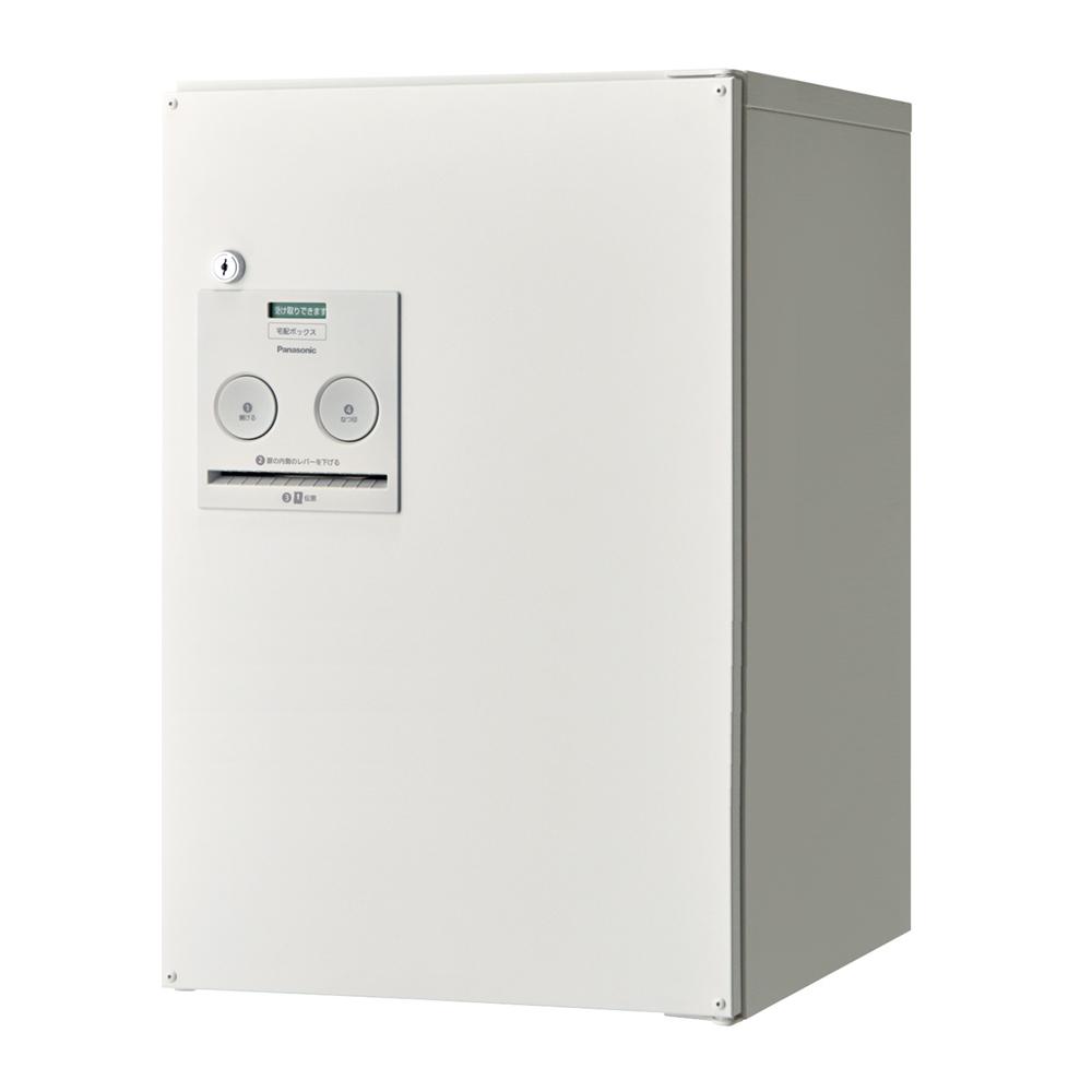 Panasonic(パナソニック) 宅配ボックス コンボ ミドルタイプ(前出し・右開き仕様) 漆喰ホワイト色