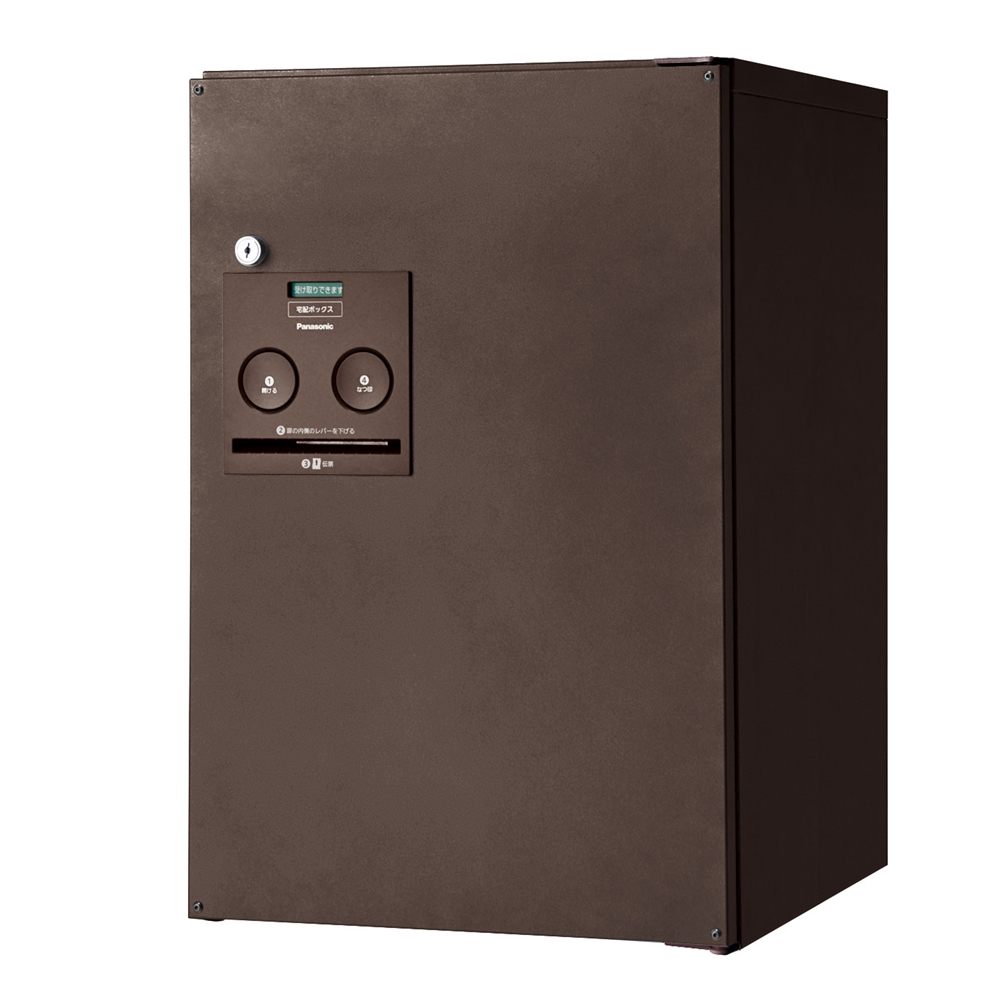 Panasonic(パナソニック) 宅配ボックス コンボ ミドルタイプ(後出し・左開き仕様) エイジングブラウン色