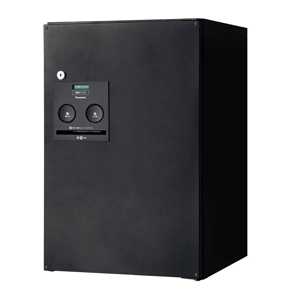 パナソニック(Panasonic) 宅配ボックス コンボ ミドルタイプ(後出し・右開き仕様) 鋳鉄ブラック色