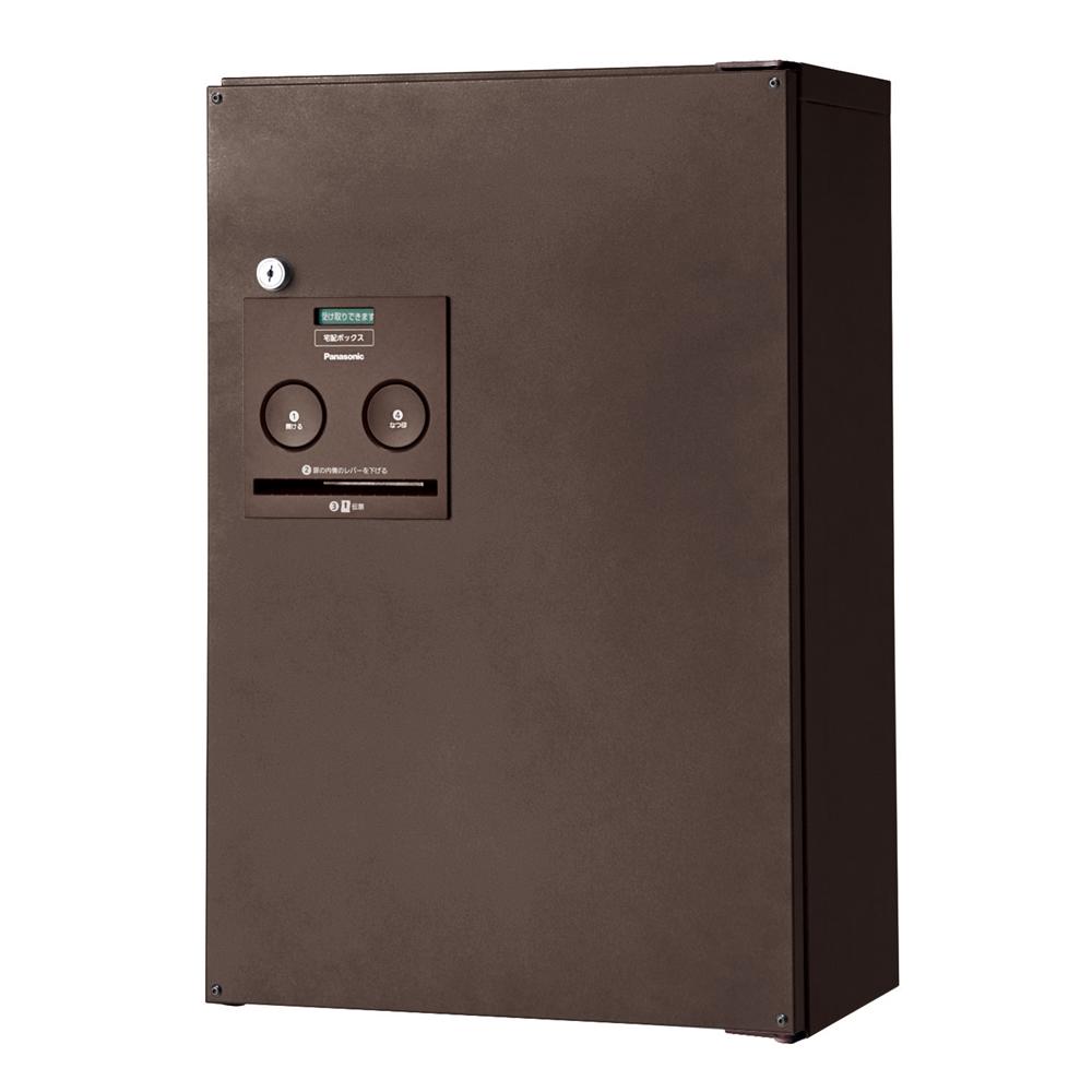 パナソニック(Panasonic) 宅配ボックス コンボ ハーフタイプ(前出し・左開き仕様) エイジングブラウン色