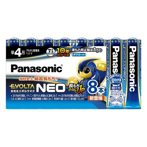 パナソニック(Panasonic) エボルタ単4X8LR03NJ/8SW