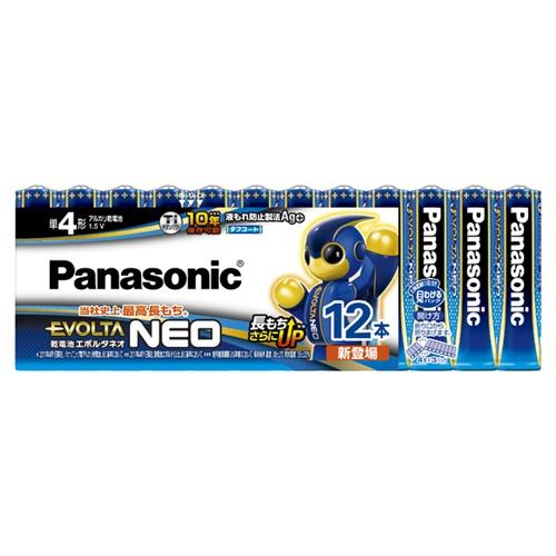パナソニック(Panasonic) エボルタ単4X12PLR03NJ/12SW