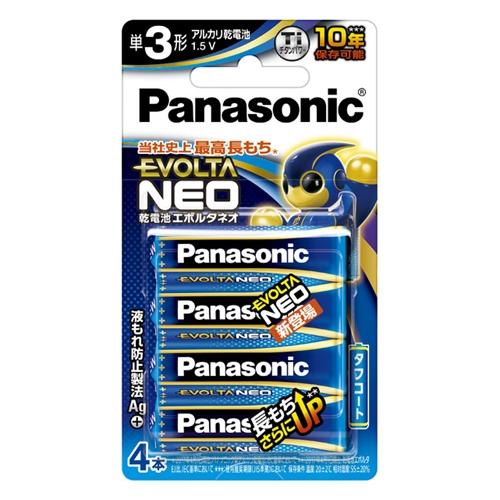 パナソニック(Panasonic) エボルタ単3X4LR6NJ/4B
