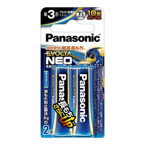 パナソニック(Panasonic) エボルタ単3X2BLR6NJ/2B