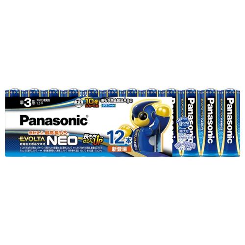 パナソニック(Panasonic) エボルタ単3X12PLR6NJ/12SW