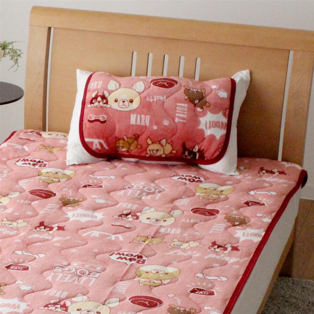枕パッド フランネルモフトピア 35x50、43x63cm枕サイズ兼用 MP184062−16