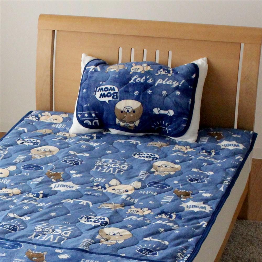 枕パッド フランネルモフトピア 35x50、43x63cm枕サイズ兼用 MP184062−76
