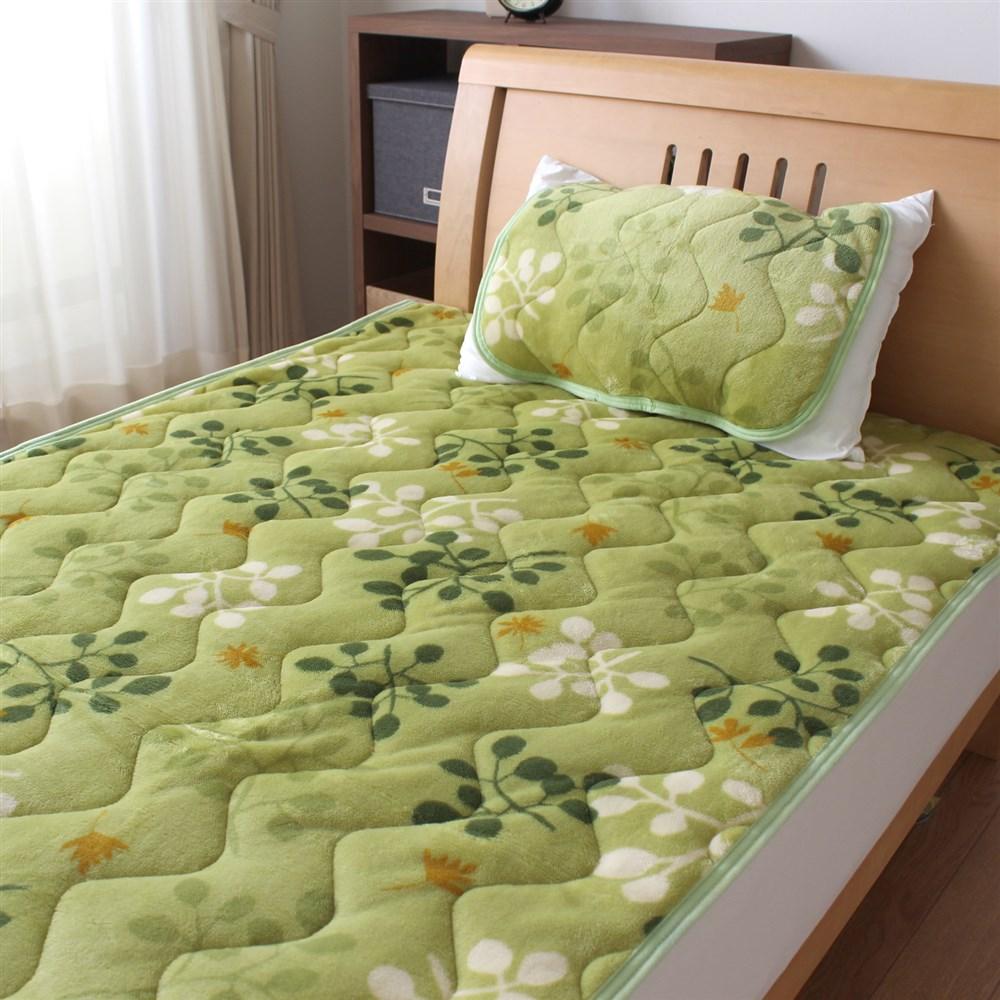 枕パッド フランネルリーフ 35x50、43x63cm枕サイズ兼用 MP184063−53