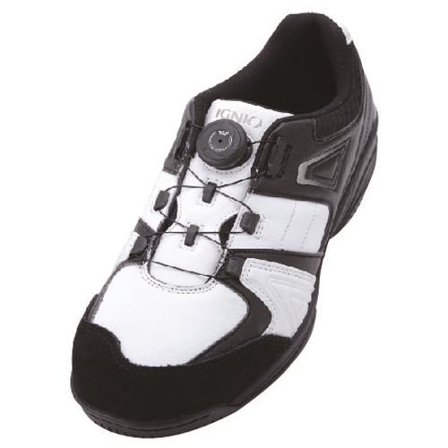 イグニオ 安全靴 ダイヤル IGS1027WH25.0