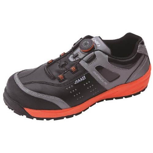 イグニオ 安全靴 ダイヤル IGS1037BKOG22.5