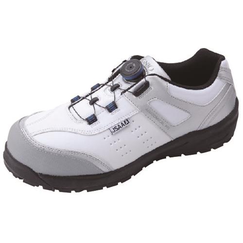 イグニオ 安全靴 ダイヤル IGS1037WH27.5