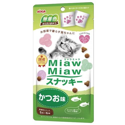 MiawMiawスナッキーかつお味 5g×6袋
