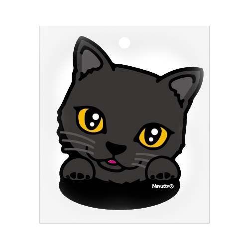 ステッカー 黒猫