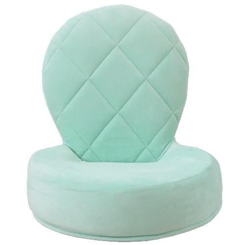 Lilou de coco 回転座椅子(リボン付) ミント