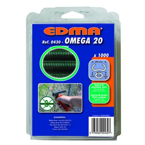 EDMA(エドマ)  オメガ20(ガルバ鋼) グリーンPVC