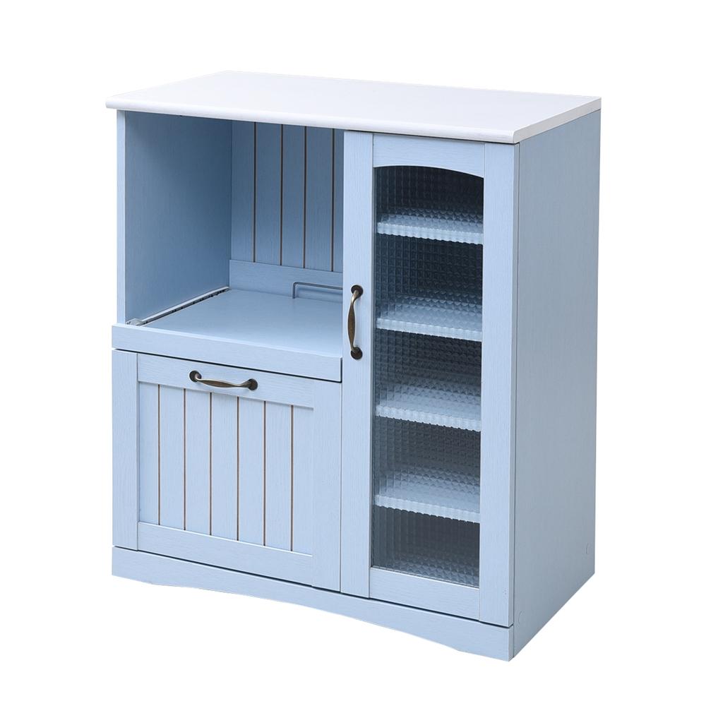 フレンチカントリー家具 キッチンカウンター 幅75 フレンチスタイル FFC−0005