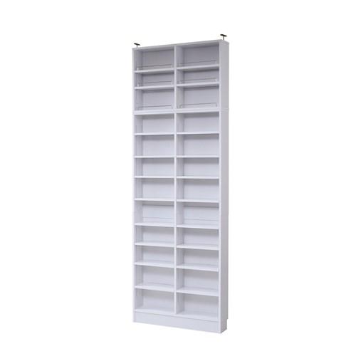MEMORIA 棚板が1cmピッチで可動する 薄型オープン幅81 上置きセット