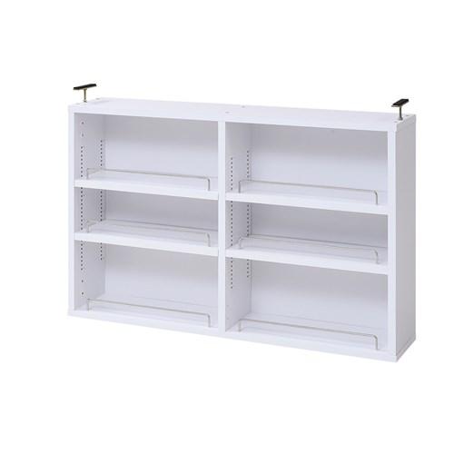 MEMORIA 棚板が1cmピッチで可動する 薄型オープン上置き幅81