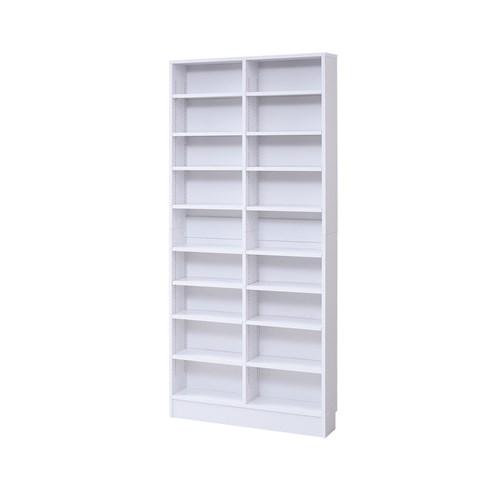 MEMORIA 棚板が1cmピッチで可動する 薄型オープン幅81