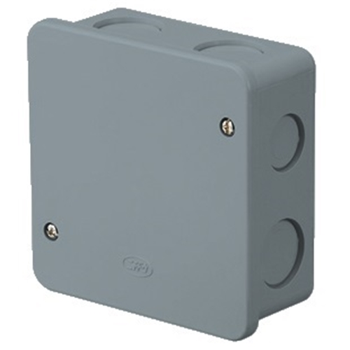 日動電工 アウトレットボックスAタイププレート付中浅型 4OB4APGHW