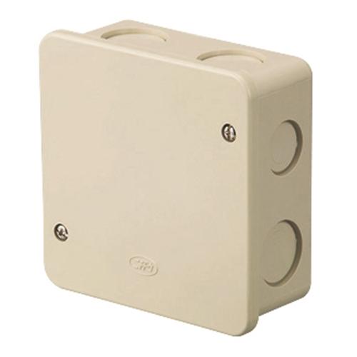 日動電工 アウトレットボックスAタイププレート付中浅型 4OB4APJHW