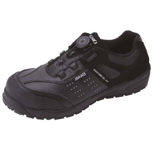 イグニオ 安全靴 ダイヤル IGS1047BK25.0