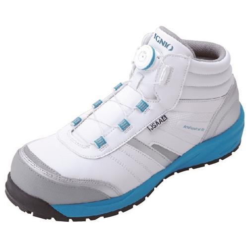 イグニオ 安全靴 ダイヤル IGS1057WH22.5