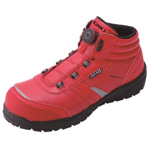 イグニオ 安全靴 ダイヤル IGS1057RD22.5